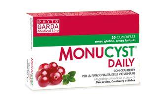Phyto Garda - Monucyst Daily Confezione 20 Compresse (Scadenza Prodotto 28/07/2021)