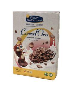 Piaceri Mediterranei - Cerealoro Gondoline Al Cacao Senza Glutine Confezione 300 Gr