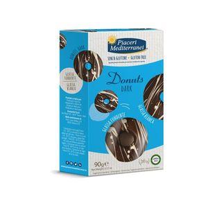 Piaceri Mediterranei - Donuts Dark Senza Glutine Confezione 90 Gr