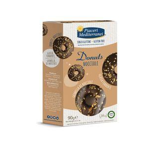 Piaceri Mediterranei - Donuts Nocciole Senza Glutine Confezione 90 Gr