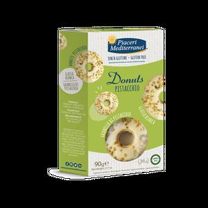 Piaceri Mediterranei - Donuts Pistacchio Senza Glutine Confezione 90 Gr (Scadenza Prodotto 07/04/2021)