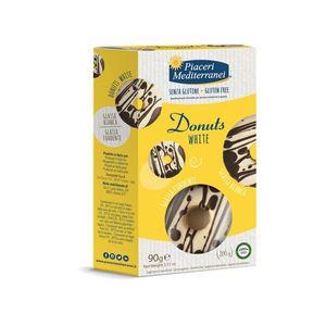 Piaceri Mediterranei - Donuts White Senza Glutine Confezione 90 Gr