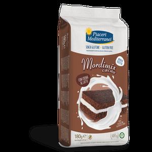 Piaceri Mediterranei - Mordimix Crema Al Cacao Senza Glutine Confezione 4X45 Gr