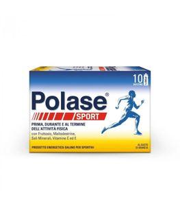 Polase - Sport Integratore Di Sali Minerali Confezione 10 Bustine (Confezione Danneggiata)