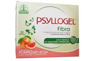 Psyllogel - Fibra Pompelmo Rosa Confezione 20 Bustine