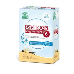 Psyllogel - Megafermenti 6 Miliardi Vaniglia Confezione 21 Bustine