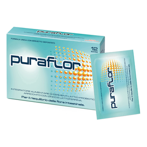 Puraflor - Fermenti Lattici Confezione 12 Bustine