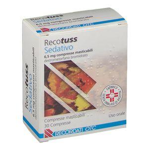 Recotuss - Sedativo 6.5 Mg Confezione 30 Compresse (Scadenza Prodotto 28/09/2021)