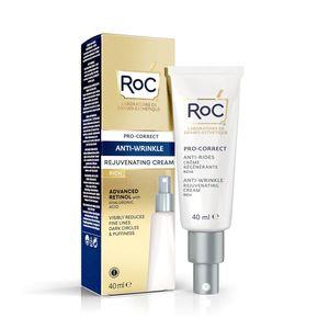 Roc - Pro Correct Crema Viso Antirughe Confezione 40 Ml