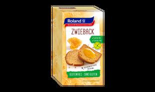 Roland - Biscot Fette Biscottate Senza Glutine Confezione 165 Gr
