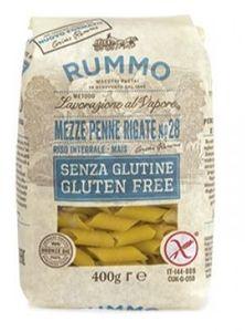 Rummo - Mezze Penne Rigate N.28 Senza Glutine Confezione 400 Gr
