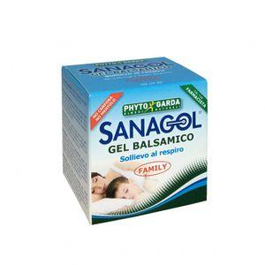 Sanagol - Gel Balsamico No Canfora No Mentolo Confezione 50 Ml
