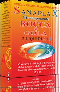 Sanaplax - A+B Antisettico del Cavo Orale Confezione 2X150 Ml