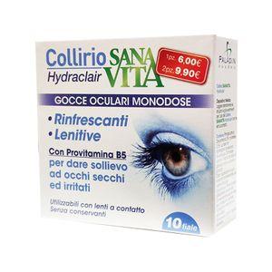 Sanavita - Collirio Hydraclair Gocce Oculari Confezione 10 Fiale Monodose