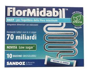 Flormidabil - Daily Con Stevia Confezione 10 Bustine