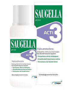 Saugella - Acti3 Detergente Intimo Confezione 250 Ml