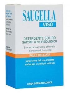 Saugella - Viso Detergente Solido Confezione 100 Gr
