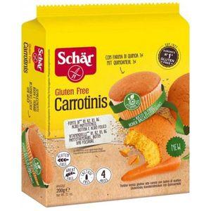 Schar - Carrotinis Merendine Senza Glutine Confezione 200 Gr (Scadenza Prodotto 17/02/2021)