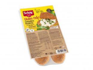 Schar - Ciabattine Rustiche Senza Glutine Confezione 200 Gr (Scadenza Prodotto 21/01/2021)
