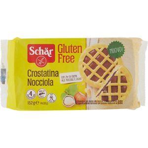 Schar - Crostatina Nocciola Senza Glutine Confezione 4X38 Gr (Scadenza Prodotto 21/02/2021)