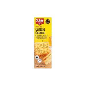 Schar - Custard Cream Biscotti Senza Glutine Confezione 125 Gr (Scadenza Prodotto 15/04/2021)