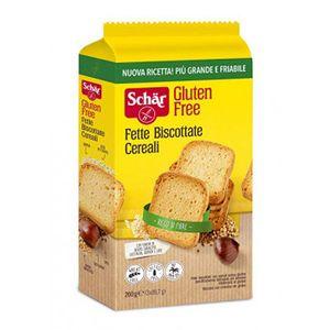 Schar - Fette Biscottate Ai Cereali Senza Glutine Confezione 260 Gr