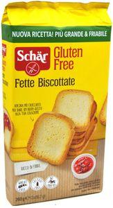 Schar - Fette Biscottate Senza Glutine Confezione 260 Gr