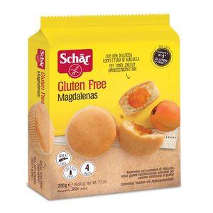 Schar - Magdalenas Merende Senza Glutine Confezione 200 Gr (Scadenza Prodotto 10/02/2021)