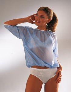 ScudoTex - Dimagrantes Blusa Azzurra Taglia 2 Confezione 1 Pezzo