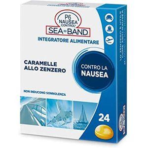 Sea Band - P6 Nausea Control Caramelle Allo Zenzero Confezione 24 Caramelle