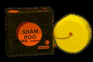 Officina Naturae - Shampoo Solido Rinforzante Ed Illuminante Confezione 64 Gr