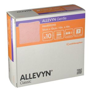 Smith & Nephew - Allevyn Adhesive 10X10 Cm Confezione 10 Pezzi