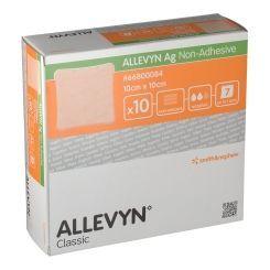 Smith & Nephew - Allevyn Ag Non Adhesive Ag 10X10 Cm Confezione 10 Pezzi (Scadenza Prodotto 01/12/2021)