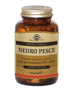 Solgar - Neuro Pesce Confezione 50 Perle Softgels