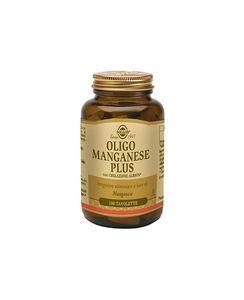 Solgar - Oligo Manganese Plus Confezione 100 Tavolette (Scadenza Prodotto 28/07/2021)