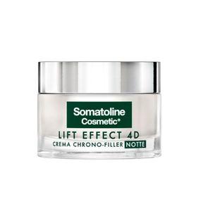 Somatoline - Viso Lift Effect 4D Crema Chrono Filler Notte Confezione 50 Ml