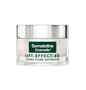 Somatoline - Viso Lift Effect 4D Crema Filler Antirughe Confezione 50 Ml