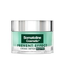 Somatoline - Viso Prevent Effect Crema Detox Notte Confezione 50 Ml
