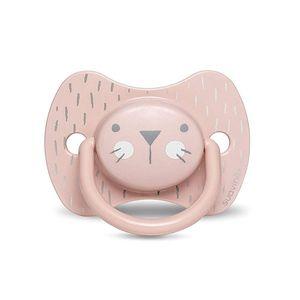 Suavinex - Hygge Succhietto Tettina Reversibile 18M+ Rosa Confezione 1 Pezzo
