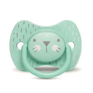 Suavinex - Hygge Succhietto Tettina Reversibile 18M+ Verde Confezione 1 Pezzo