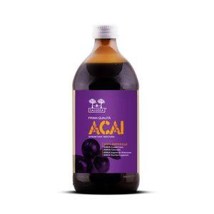 Salugea - Succo Di Açai Naturale Al 100% Confezione 500 Ml (Scadenza 31/03/2021)