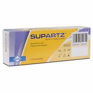 Supartz -  Siringa Intrarticolare Confezione 1 Siringa Fiala Preriempita  2,5 Ml (Dispositivo Medico CE)