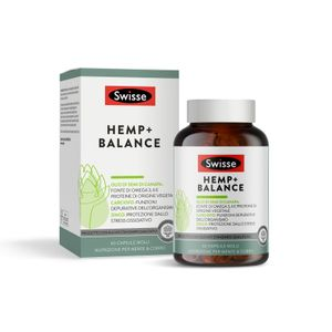 Swisse - Hemp+ Balance Confezione 60 Capsule