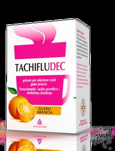 Tachifludec - Gusto Arancia Confezione 10 Bustine