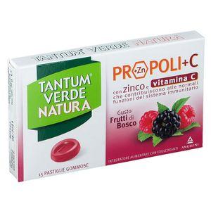 Tantum Verde - Natura Pastiglie Frutti Di Bosco Confezione 15 Pastiglie