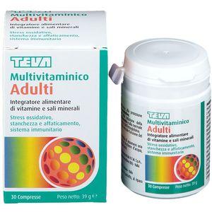 Teva - Multivitaminico Adulti Confezione 30 Compresse