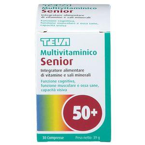 Teva - Multivitaminico Senior 50+ Confezione 30 Compresse