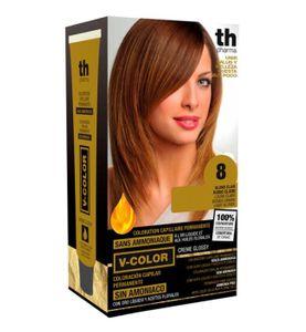 Th Pharma - Vitalia Color Tintura Senza Ammoniaca N. 8 Confezione 60 Ml