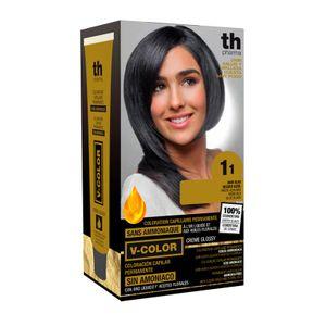 Th Pharma - Vitalia Color Tintura Senza Ammoniaca N. 1.1 Confezione 60 Ml