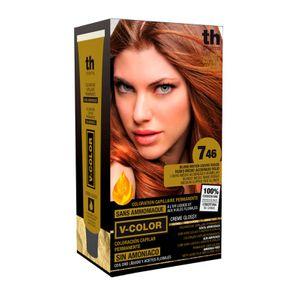 Th Pharma - Vitalia Color Tintura Senza Ammoniaca N. 7.46 Confezione 60 Ml